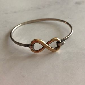 James Avery Silver + Gold Infiniti Bracelet